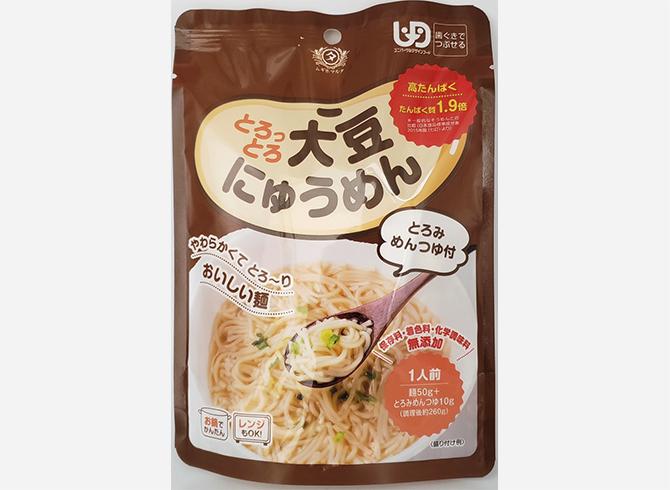 とろっとろ大豆にゅうめん 田靡製麺